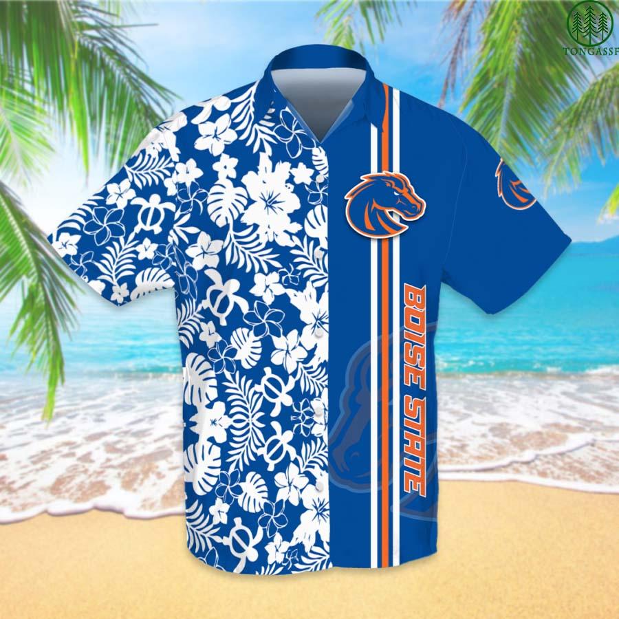 NCAAF Football Boise State Broncos Hawaiian Shirt