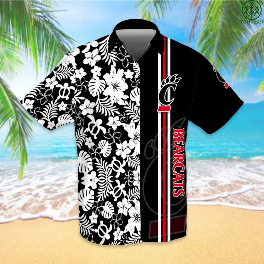 NCAAF Football Cincinnati Bearcats Hawaiian Shirt