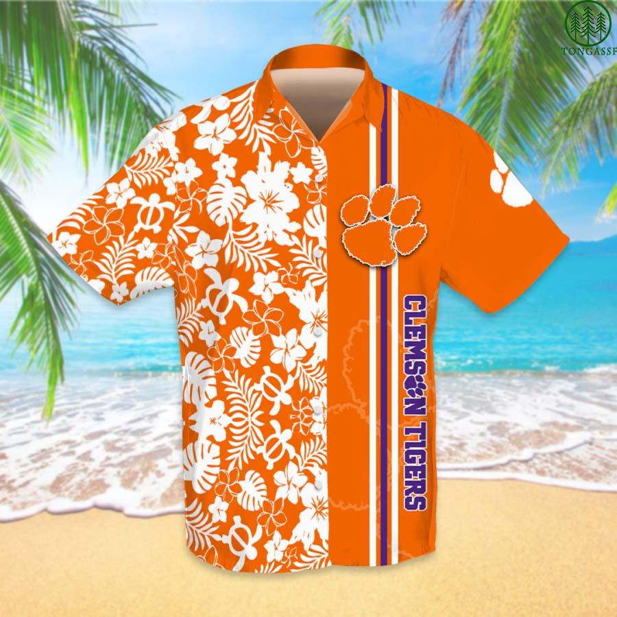 NCAAF Football Clemson Tigers Hawaiian Shirt