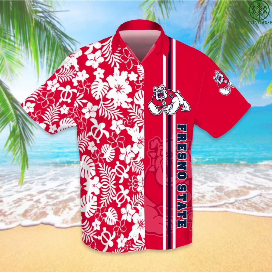 NCAAF Football Fresno State Bulldogs Hawaiian Shirt