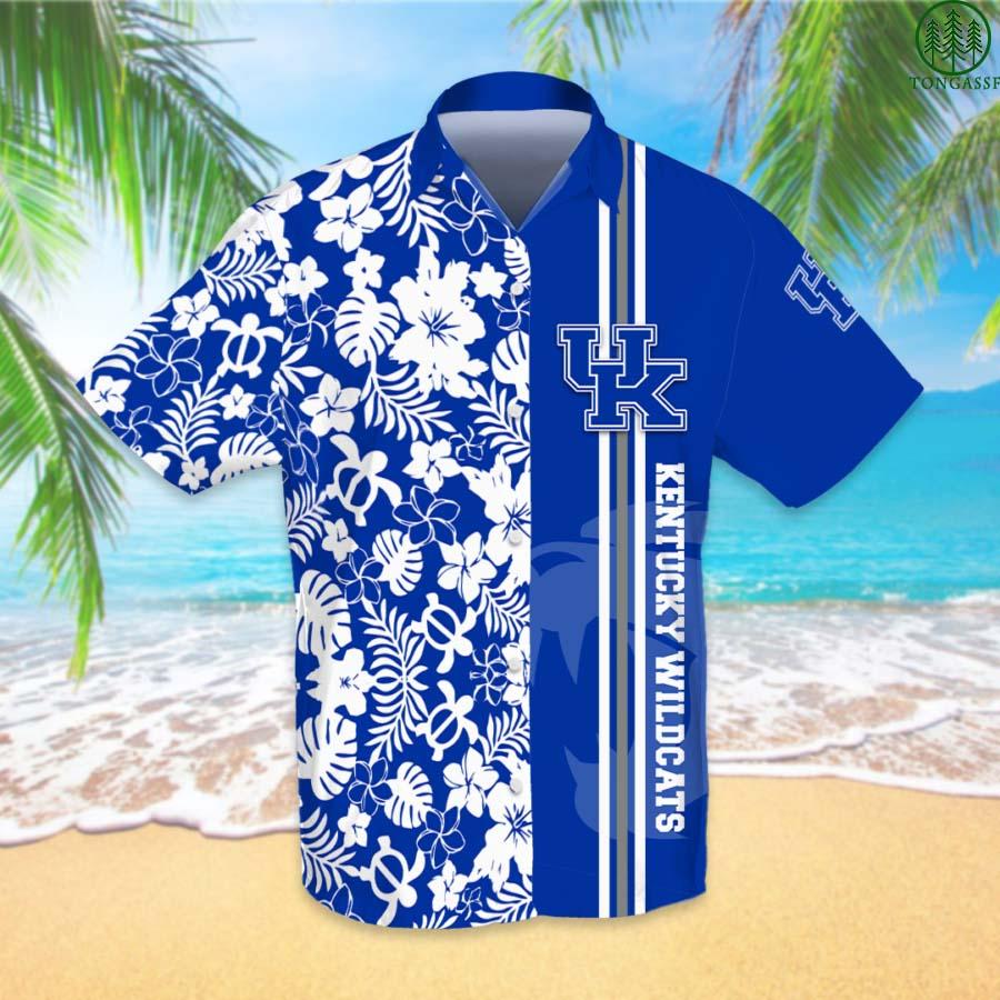 NCAAF Football Kentucky Wildcats Hawaiian Shirt