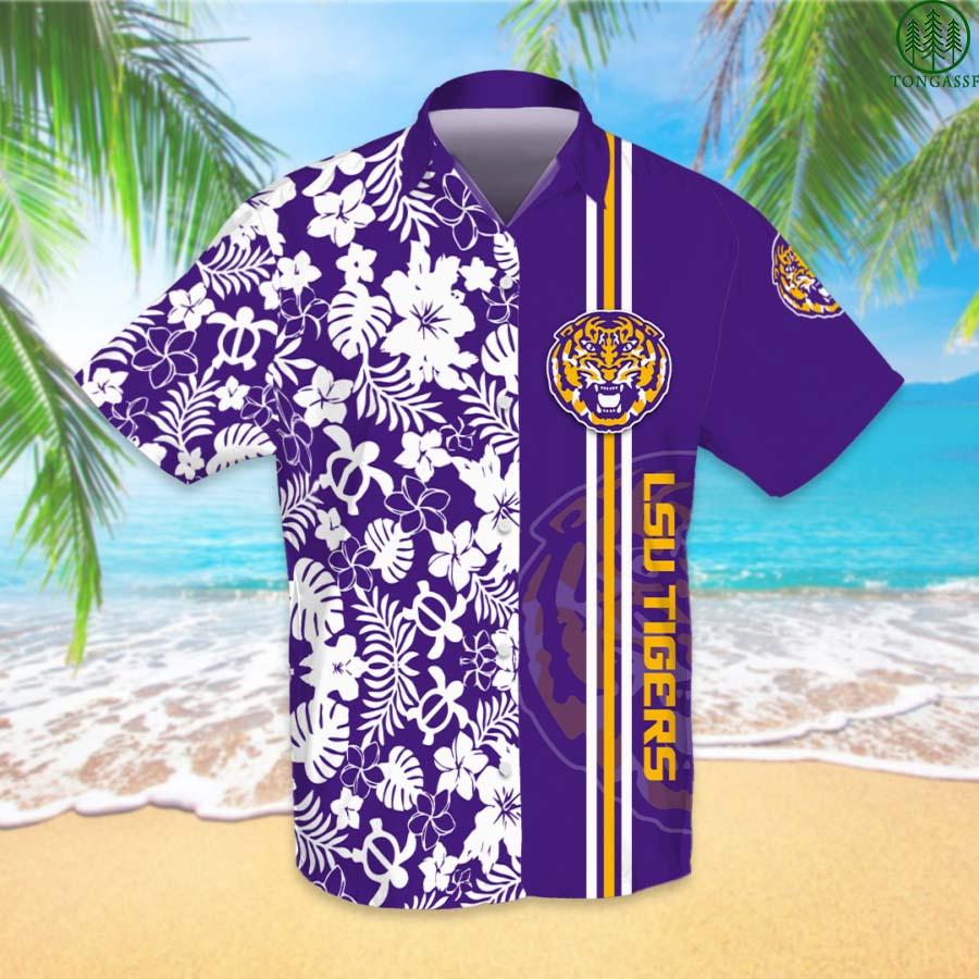 NCAAF Football LSU Tigers American Football Hawaiian Shirt