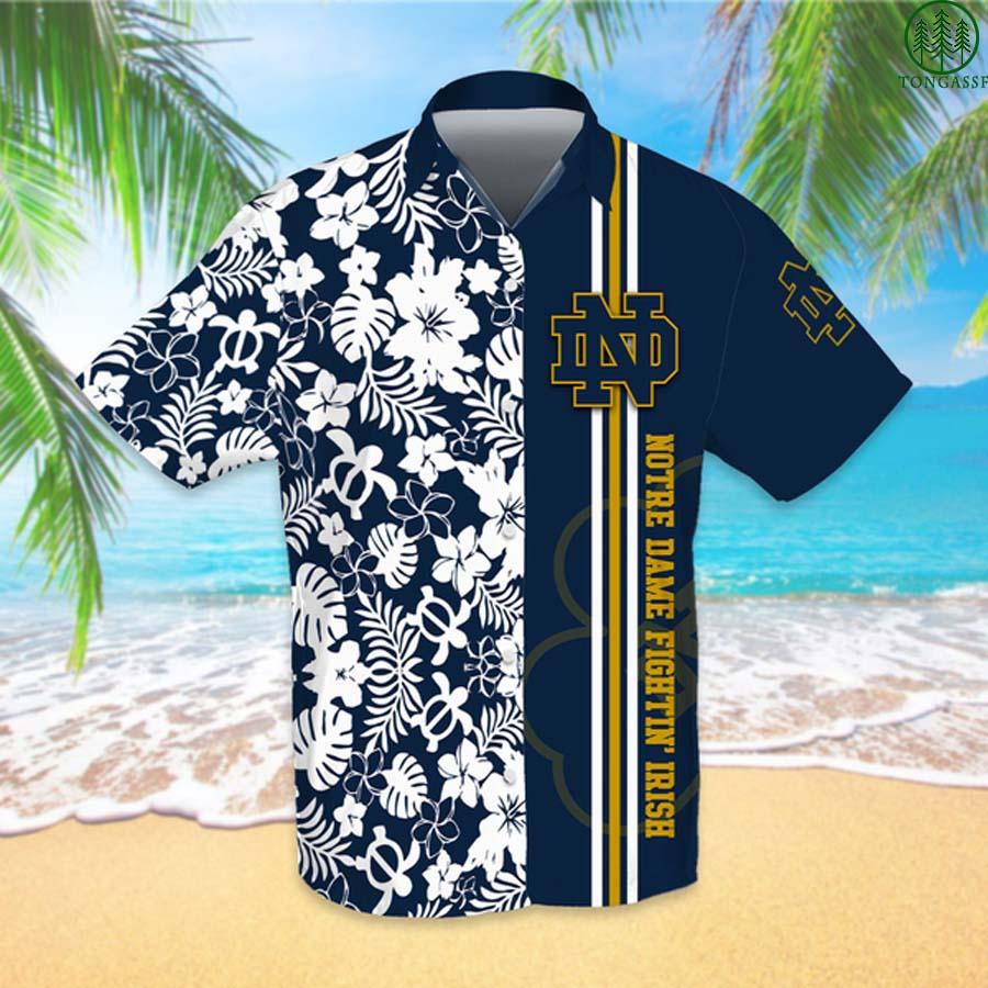 NCAAF Football Notre Dame Fighting Irish Hawaiian Shirt