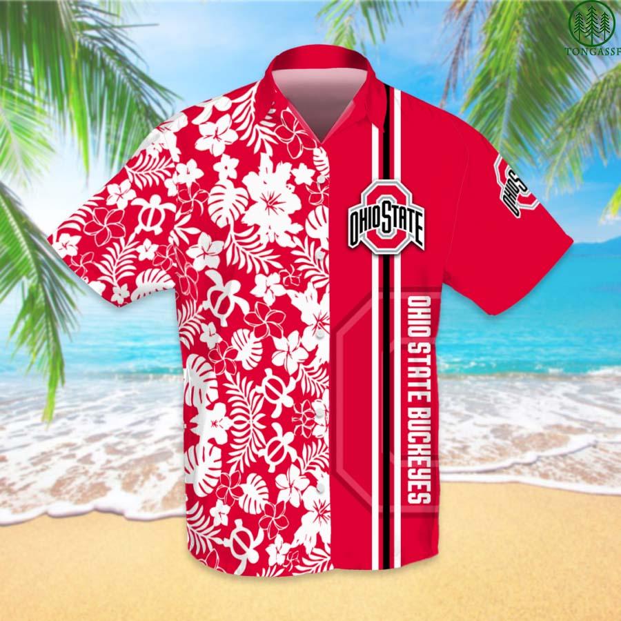 NCAAF Football Ohio State Buckeyes Hawaiian Shirt