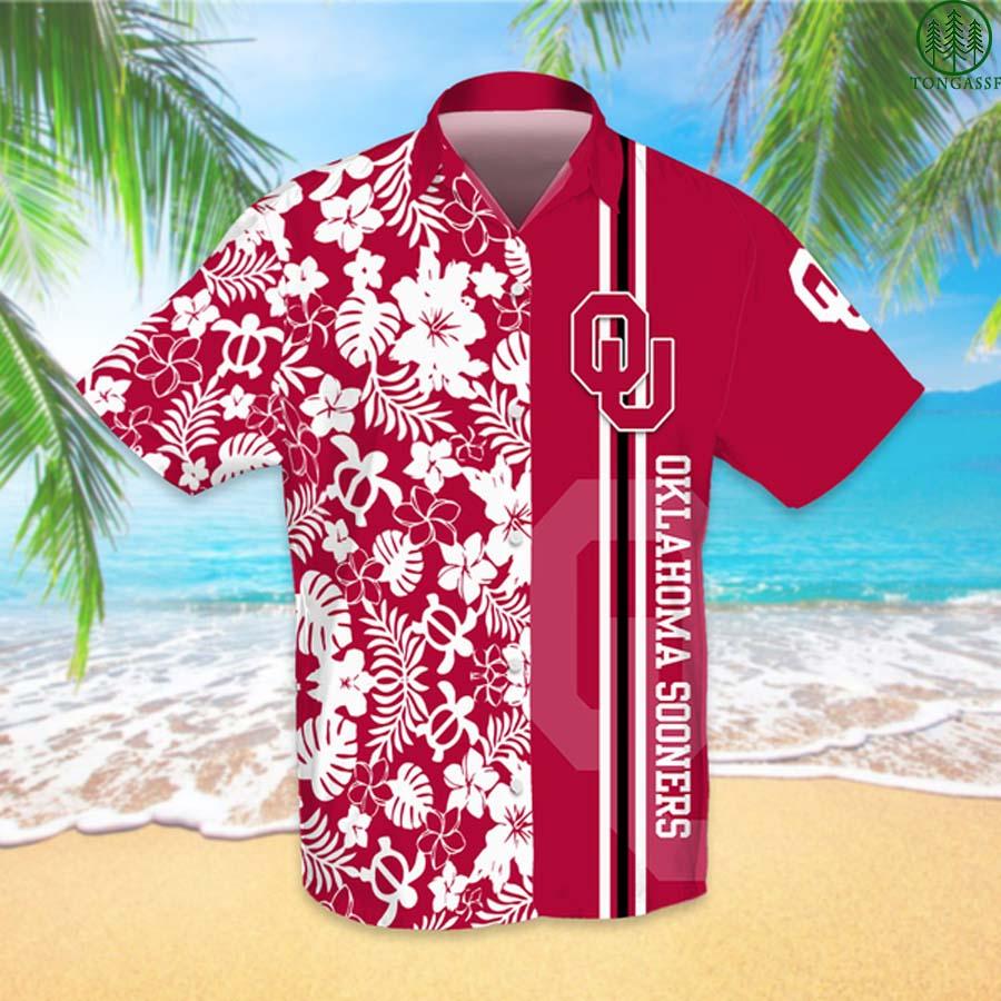 NCAAF Football Oklahoma Sooners Hawaiian Shirt