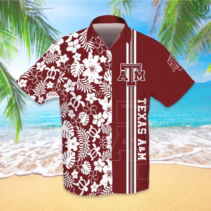NCAAF Football Texas AM Aggies Hawaiian Shirt