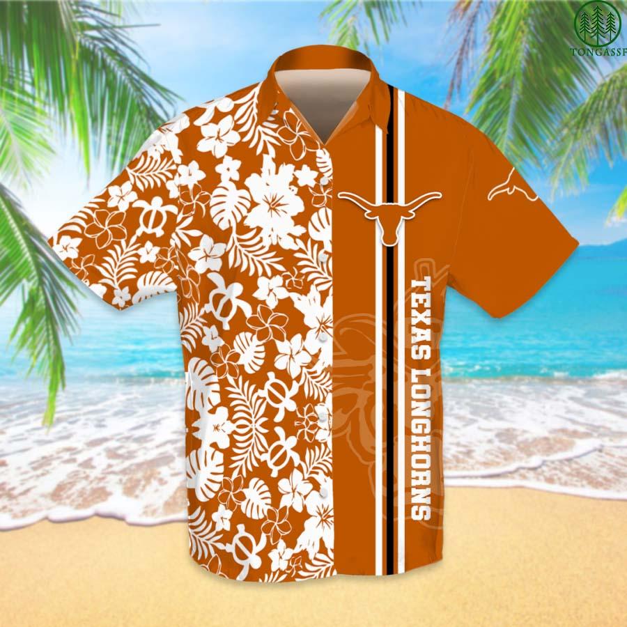 NCAAF Football Texas Longhorns Hawaiian Shirt