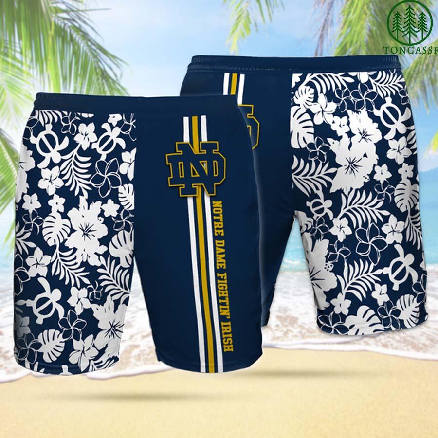 NDFI NOTRE DAME FIGHTING IRISH Hawaiian Shorts