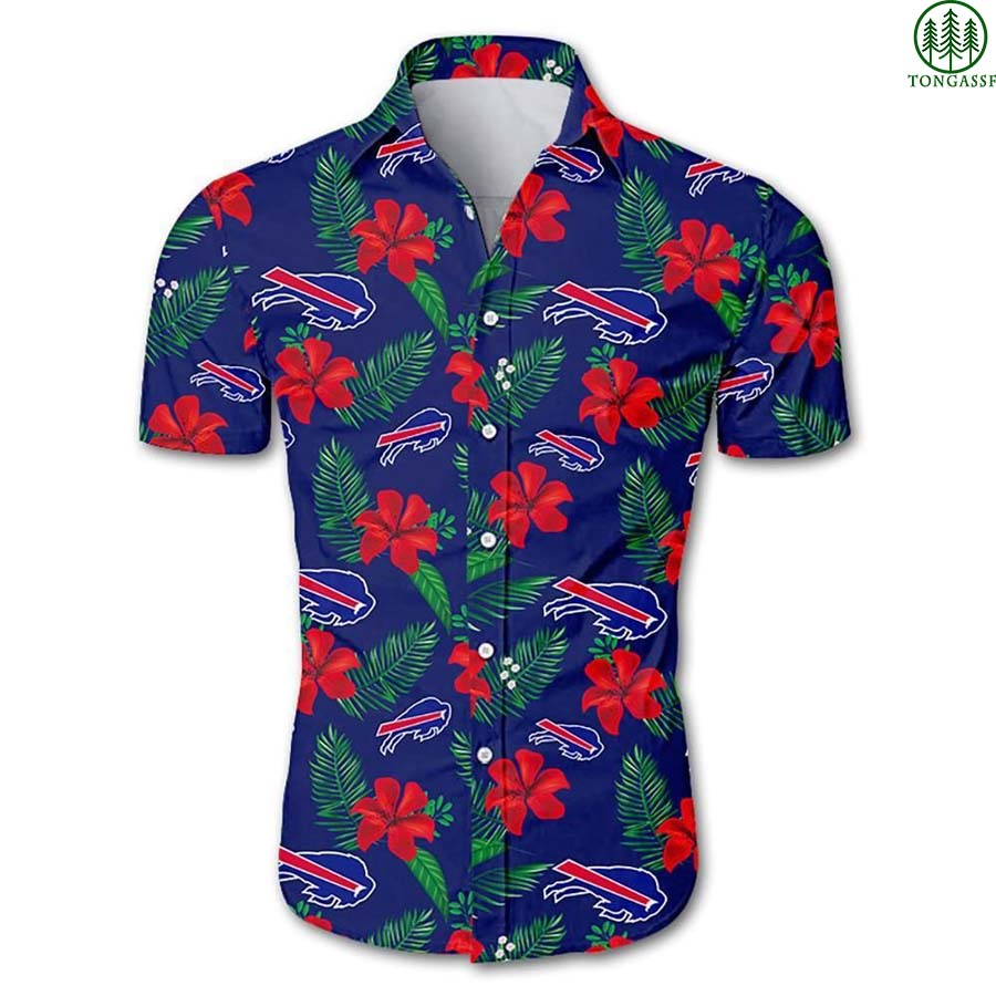 NFL Buffalo Bills Floral Hawaiian Shirt Summer Shirt