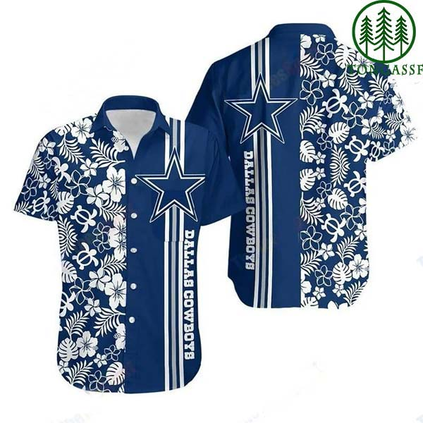 NFL Dallas Cowboys Hawaiian Summer Beach Shirt