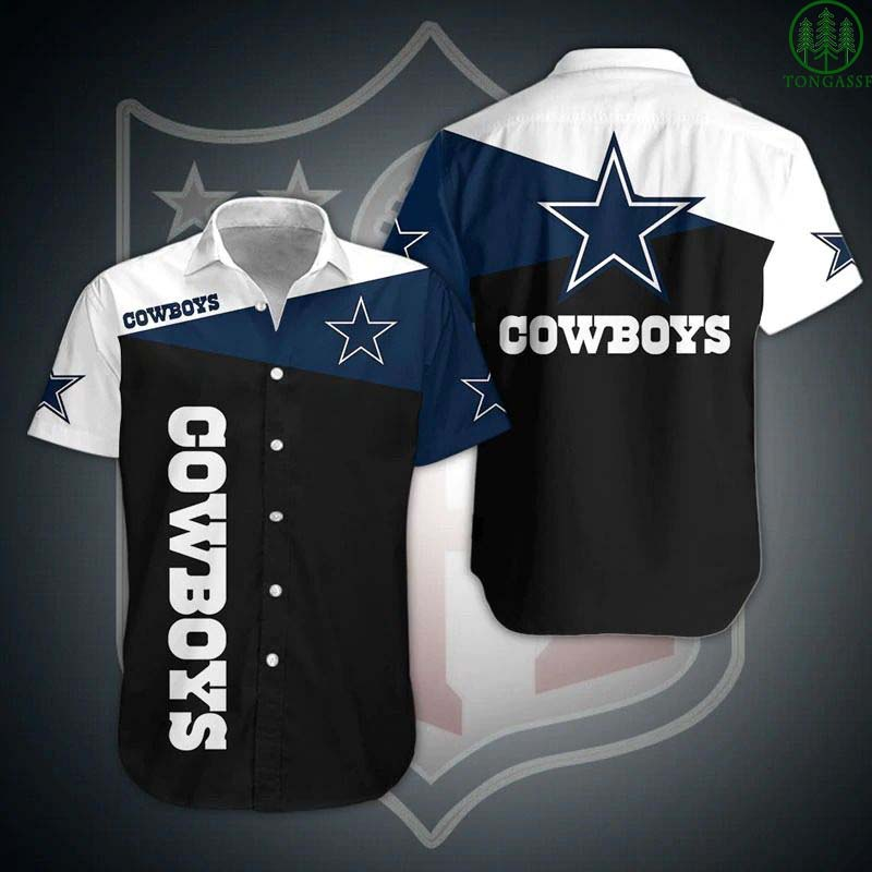 NFL Dallas Cowboys elegant Hawaiian Shirt Button Shirt