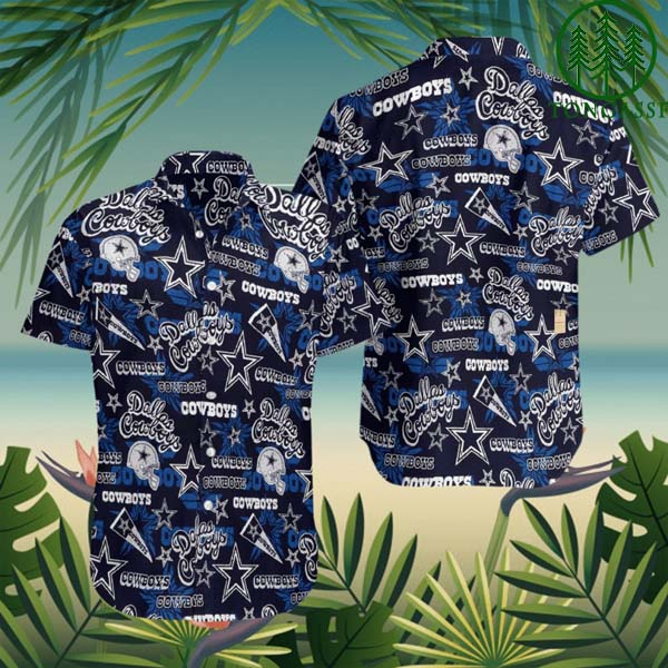 NFL Hawaiian Shirt Dallas Cowboys classic full printed
