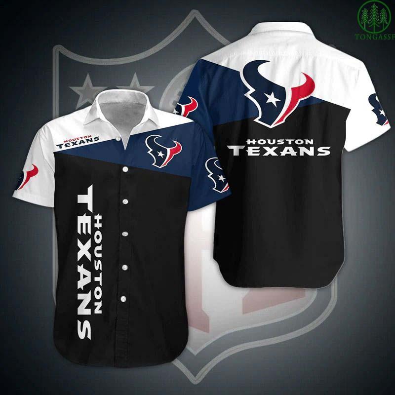NFL Houston Texans Hawaiian Shirt Summer Shirt For Fans