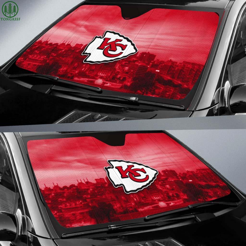 NFL Kansas City auto sun shade
