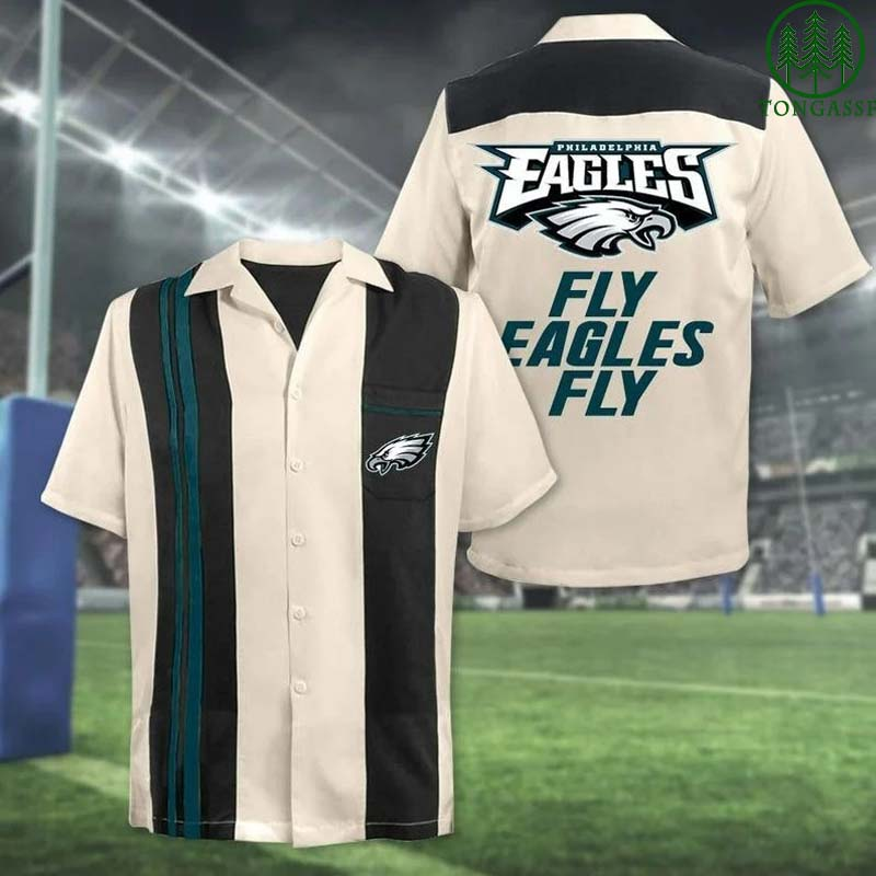 NFL Philadelphia Eagles Fly Eagles Fly Hawaiian Shirt