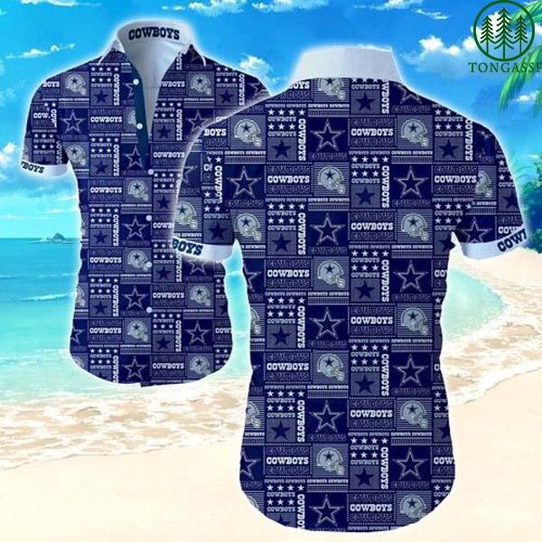 National Football League Dallas Cowboys Hawaiian Shirt