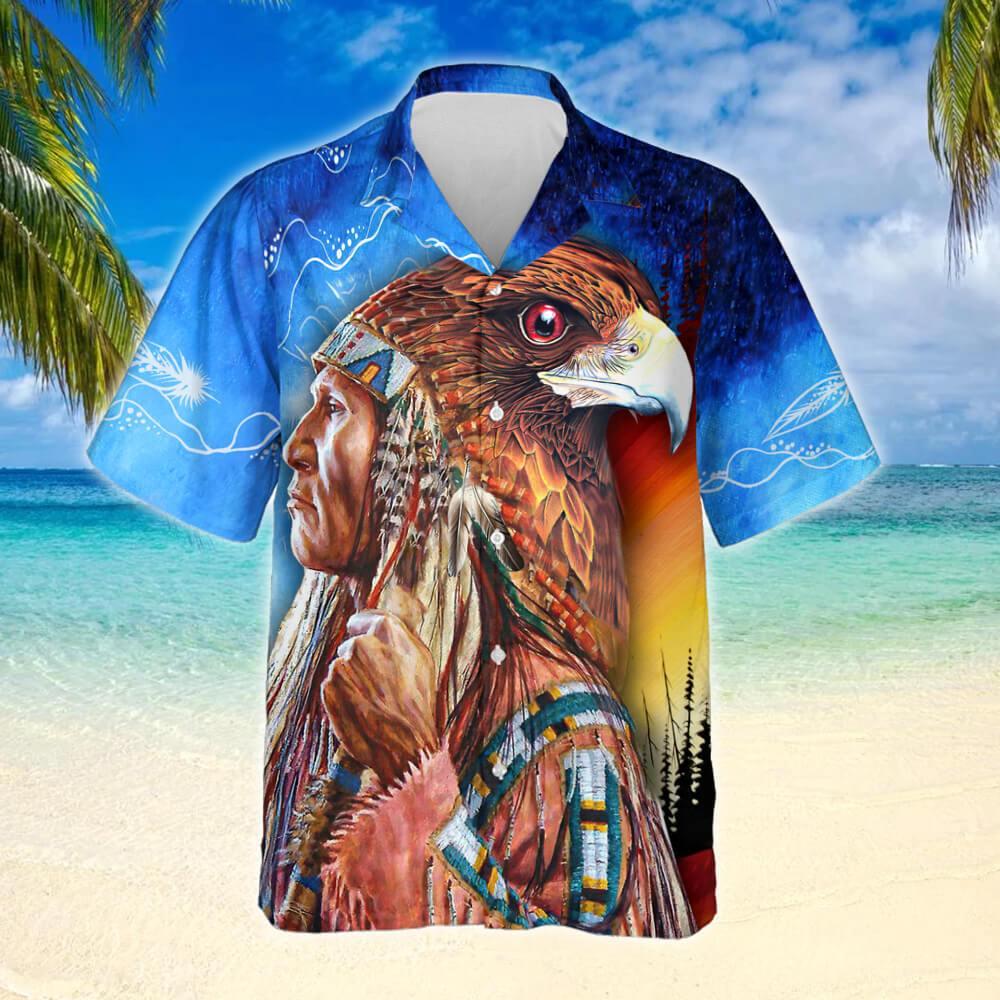 Native American Legend Hawaiian Shirt 2