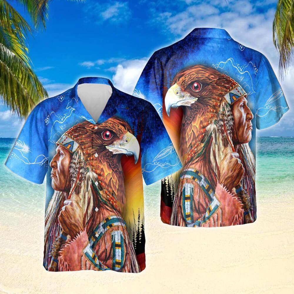 Native American Legend Hawaiian Shirt
