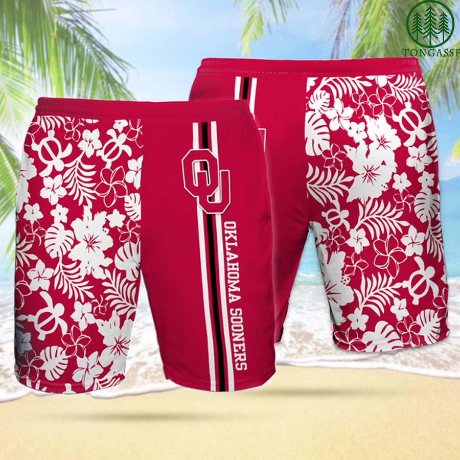 OS OKLAHOMA SOONERS Hawaiian Shorts