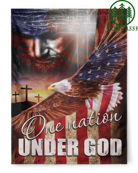 One Nation Under God Eagle Independence day American Flag