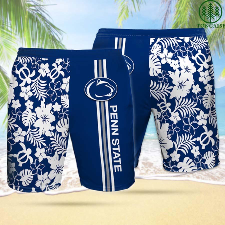 PSNL PENN STATE NITTANY LIONS Hawaiian Shorts