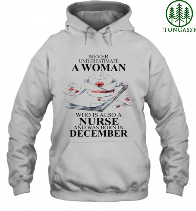 Personalized Birth Month Never underestimate a woman also a nurse