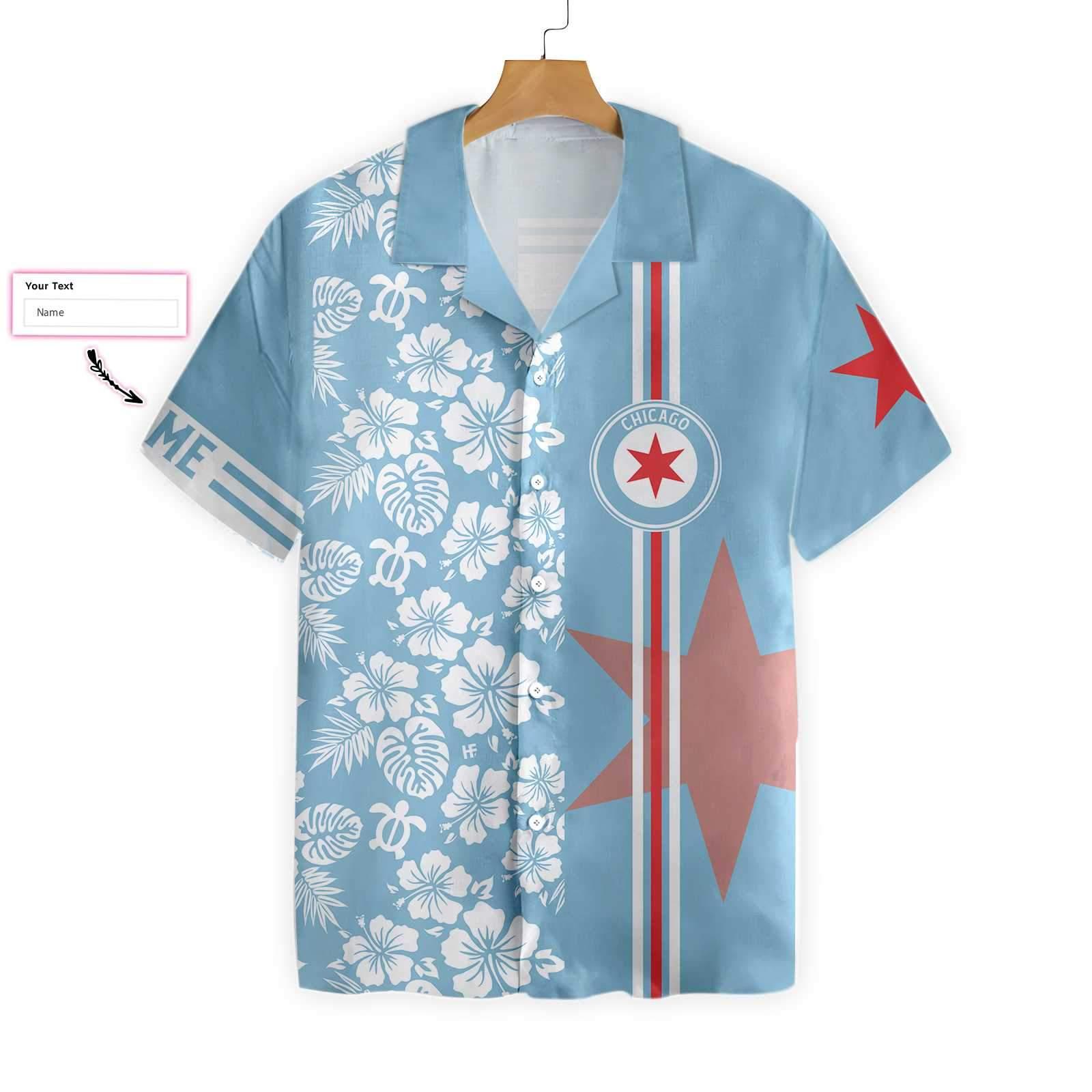 Personalized Chicago Hawaiian Shirt 2
