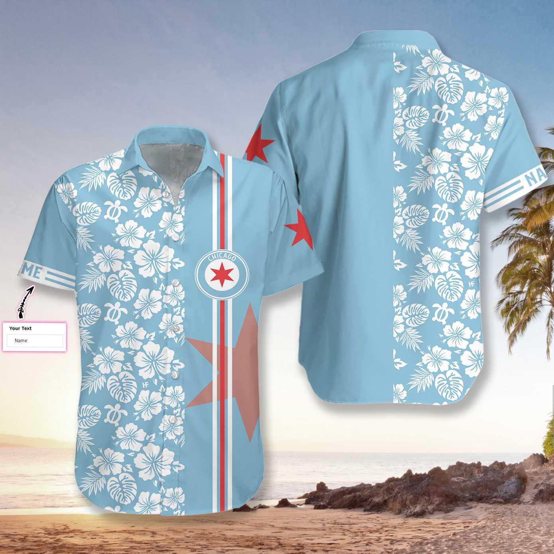 Personalized Chicago Hawaiian Shirt