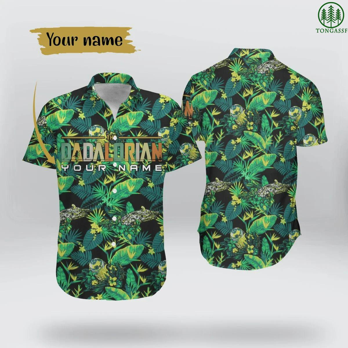 Personalized DADALORIAN Hawaiian Shirt