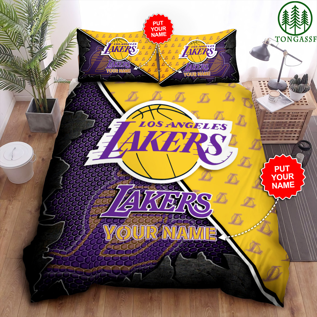 Personalized LAL basketball Bedding Set