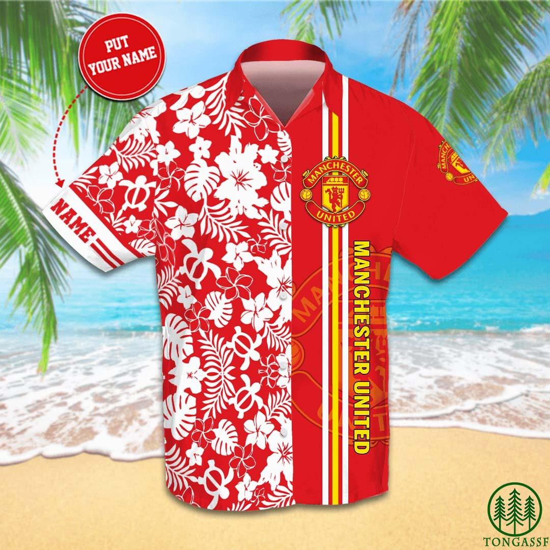 Personalized Manchester United football Hawaiian Shirt Summer Shirt