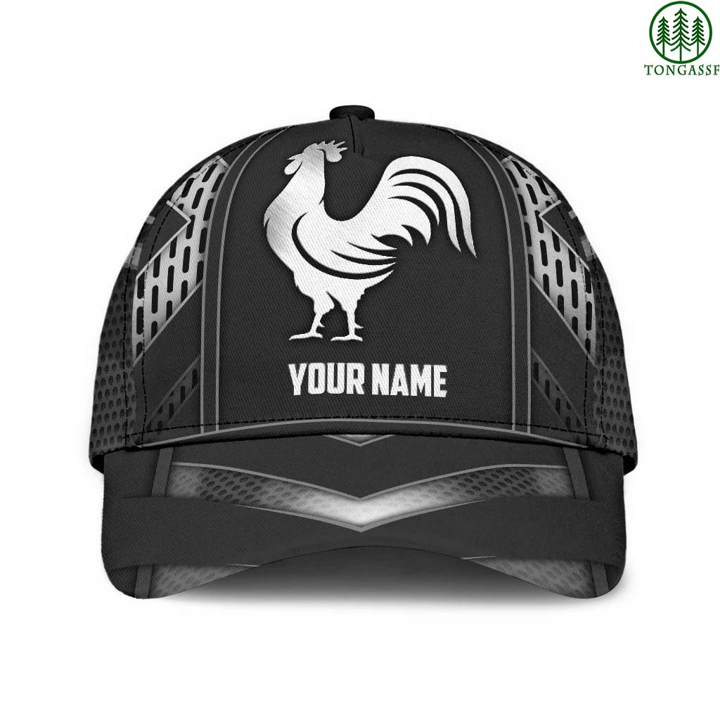 Personalized Rooster 3D Printed Cap