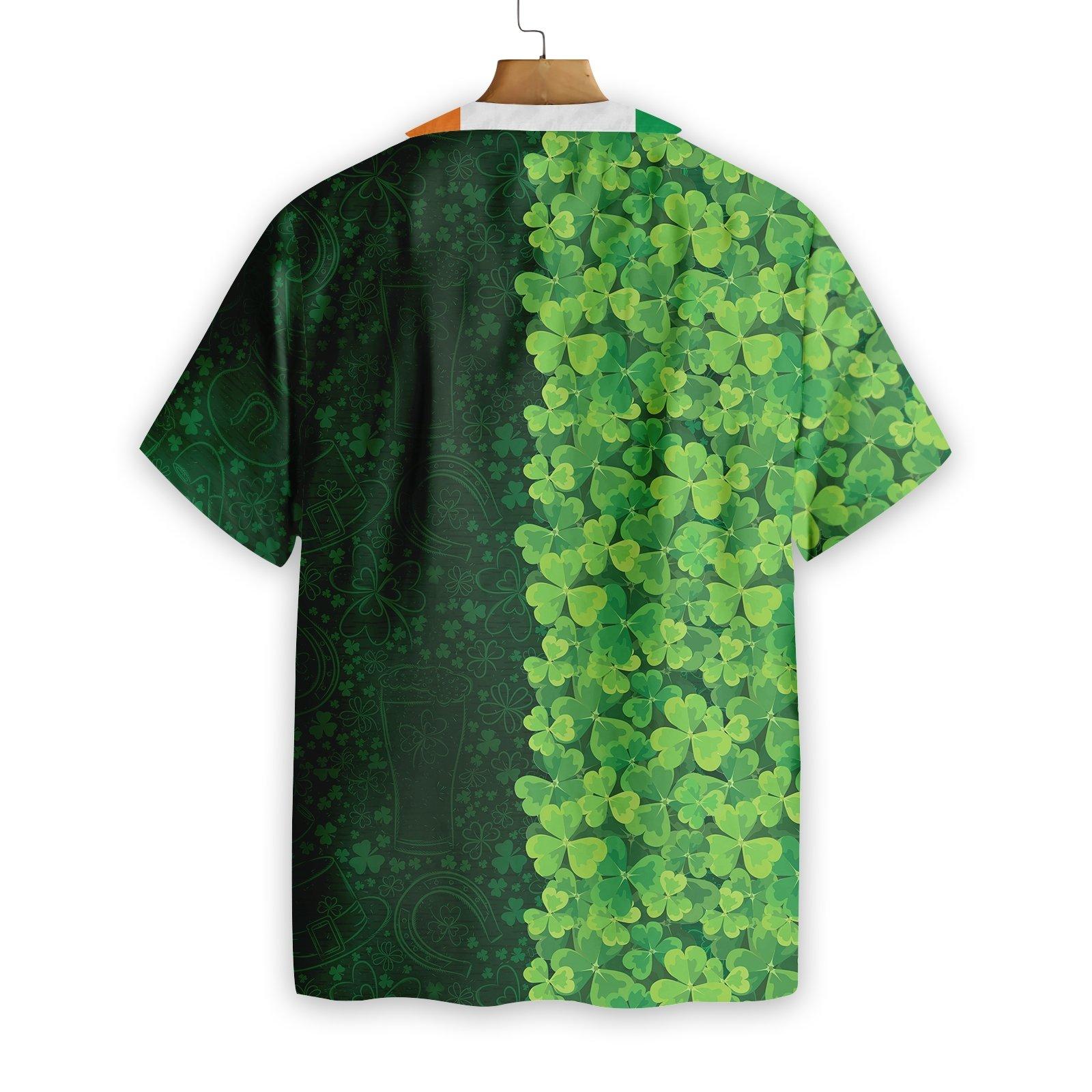 Personalized Shamrock Happy Saint Patrick's Day Irish Ireland Hawaiian Shirt 2