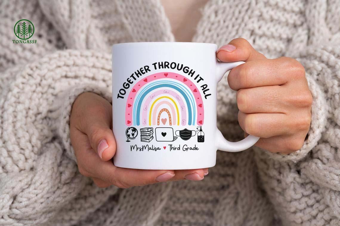 Personalized Teacher Appreciation Distance Learning Teacher Mug