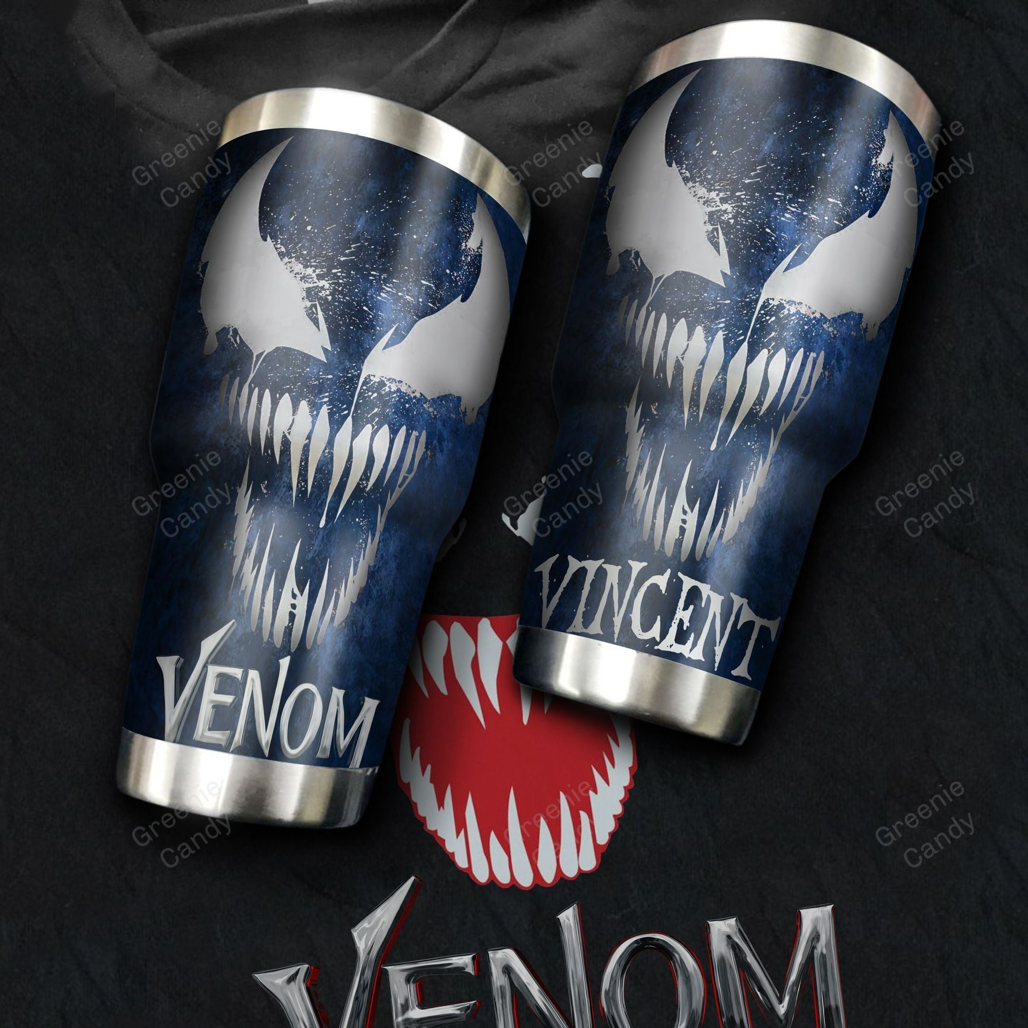 Personalized Venom Superhero Tumbler