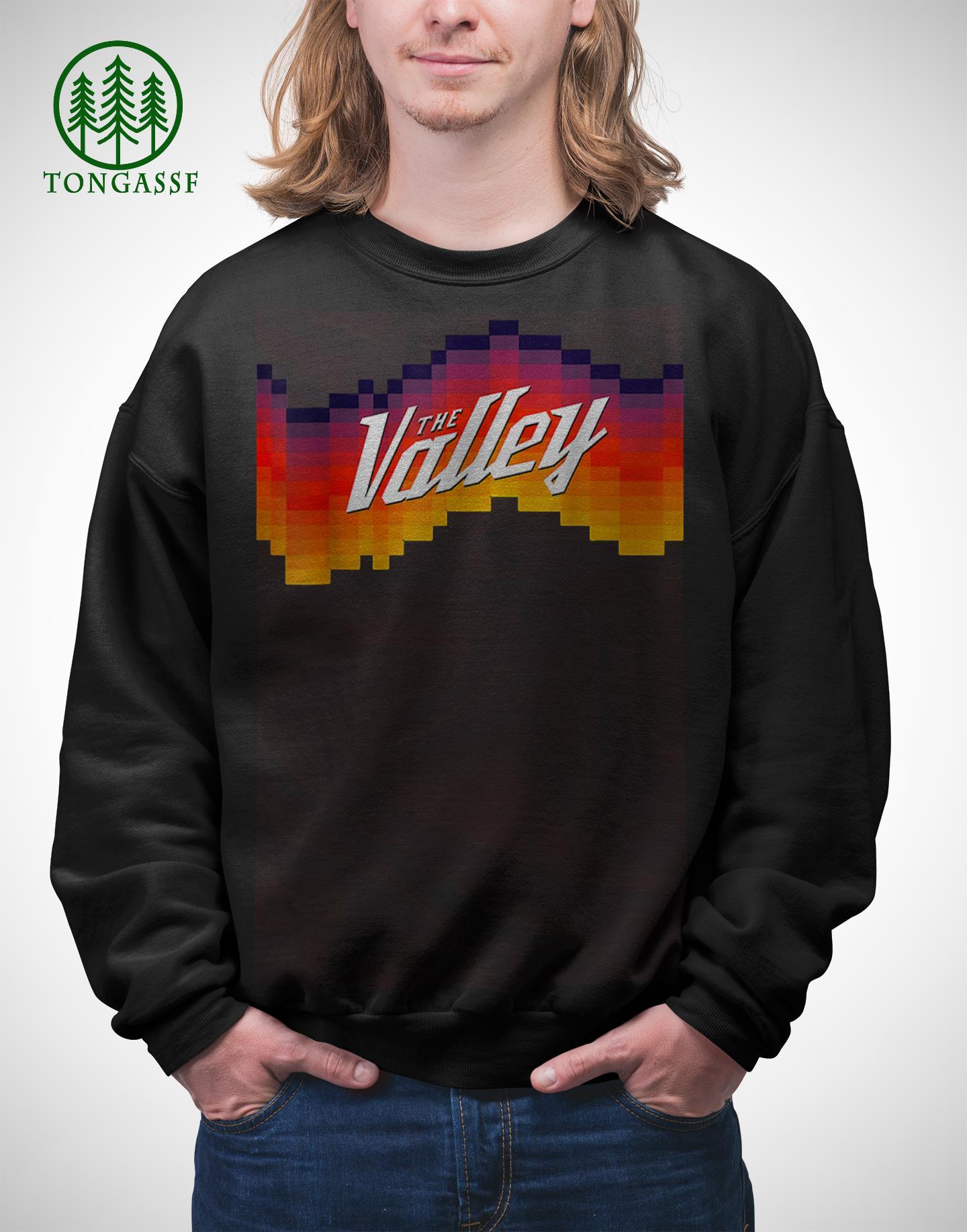Phoenix Suns The Valley City Jersey Baseball Shirt