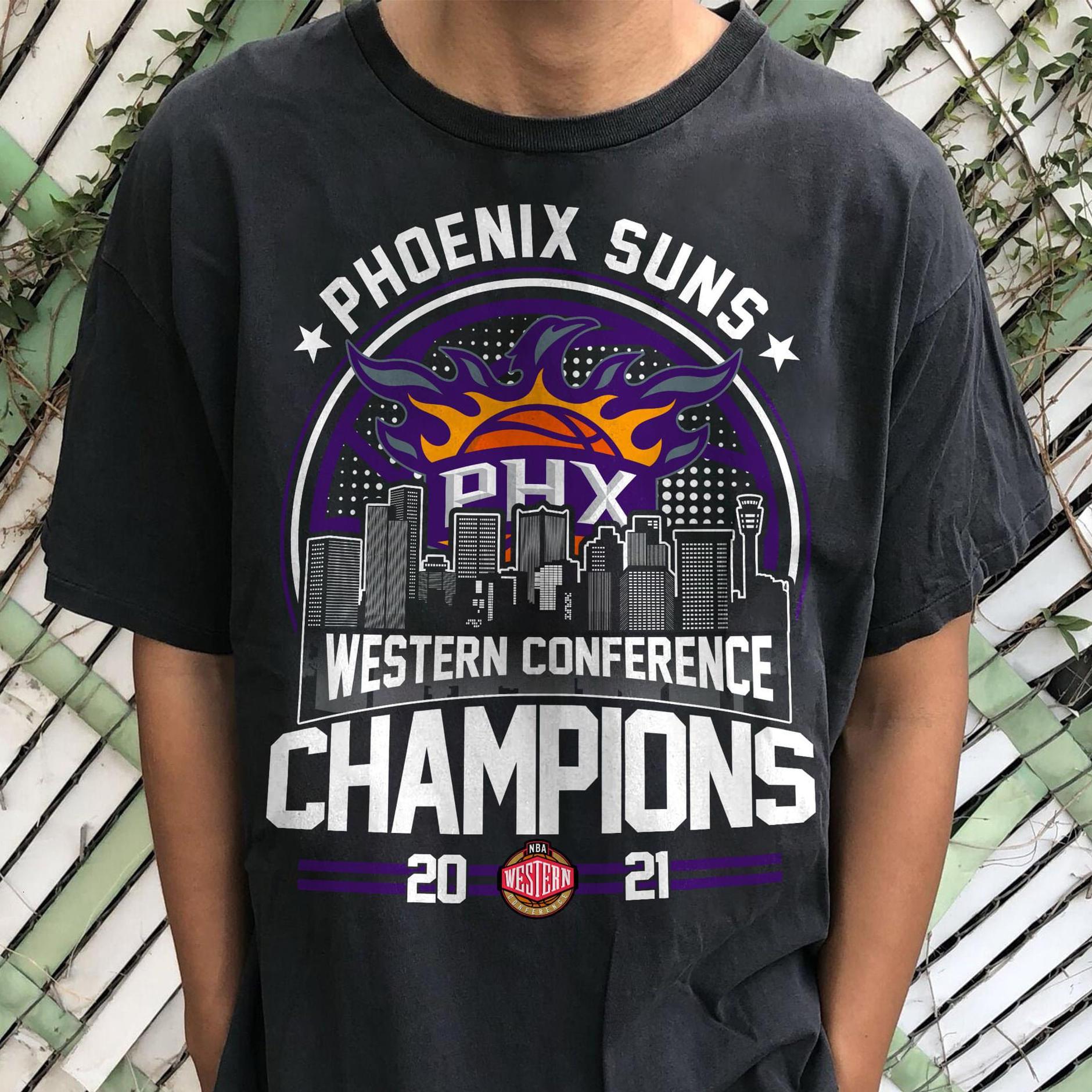 Phoenix Suns Western Conference Champions 2021 NBA Shirt