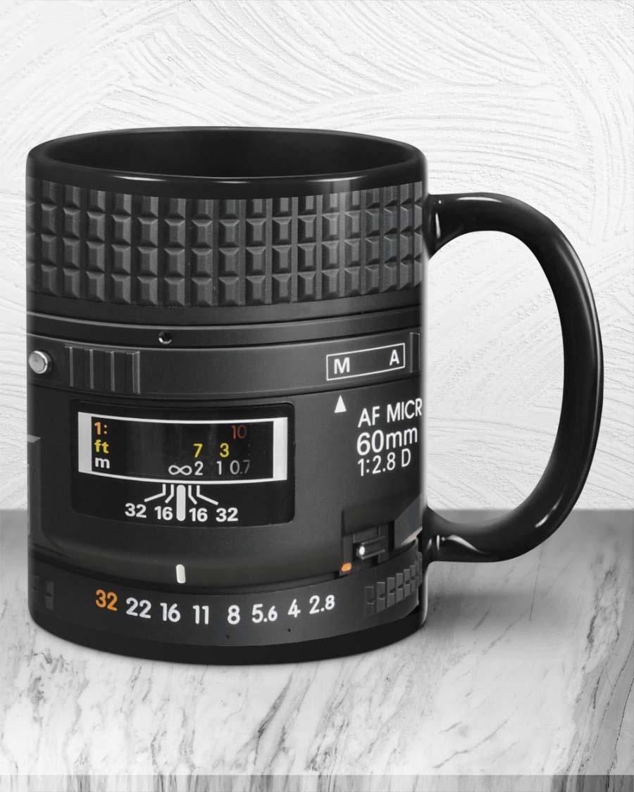 Photographer Detail Camera Lens Mug