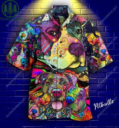 Pit Bull Parents Unisex Hawaii Shirt