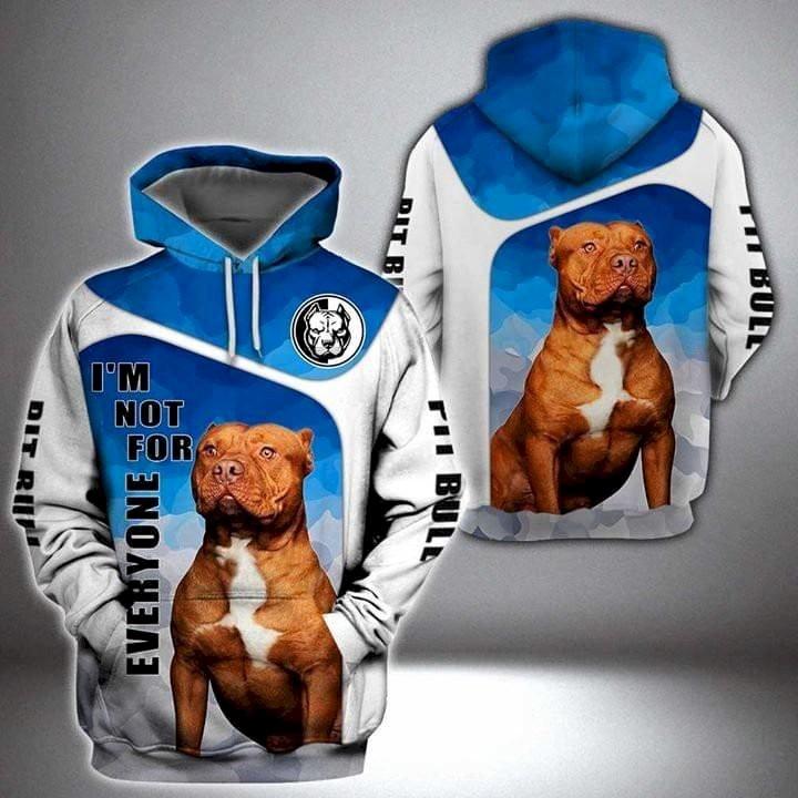 Pit Bull Terrier 3D hoodie