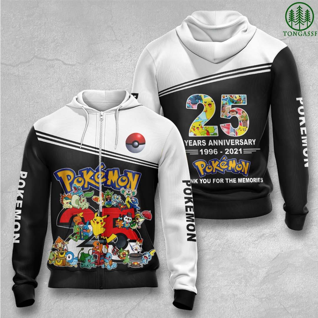 Pokemon 25 years anniversary Hawaiian Shirts