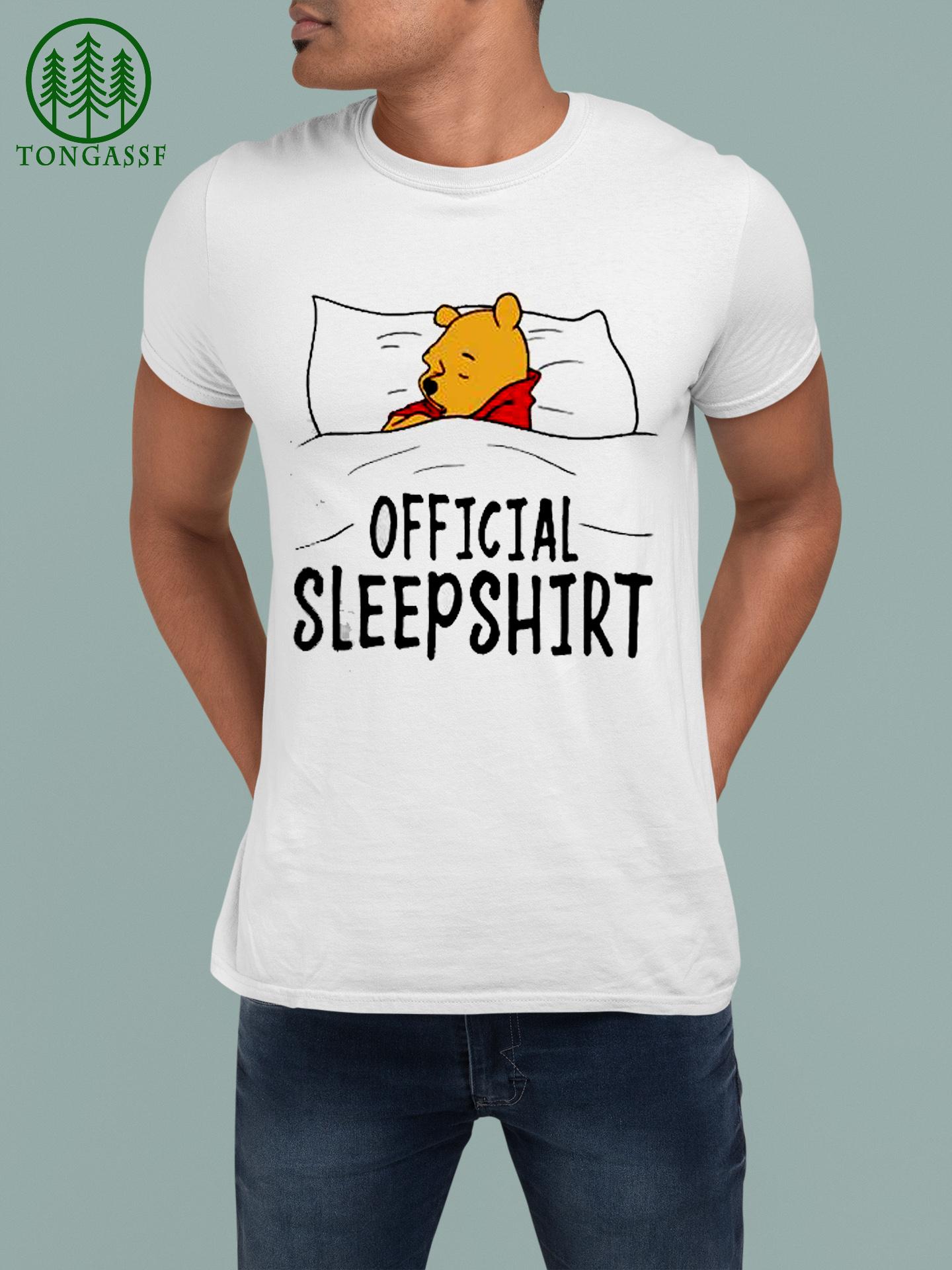 Pooh official sleep shirt