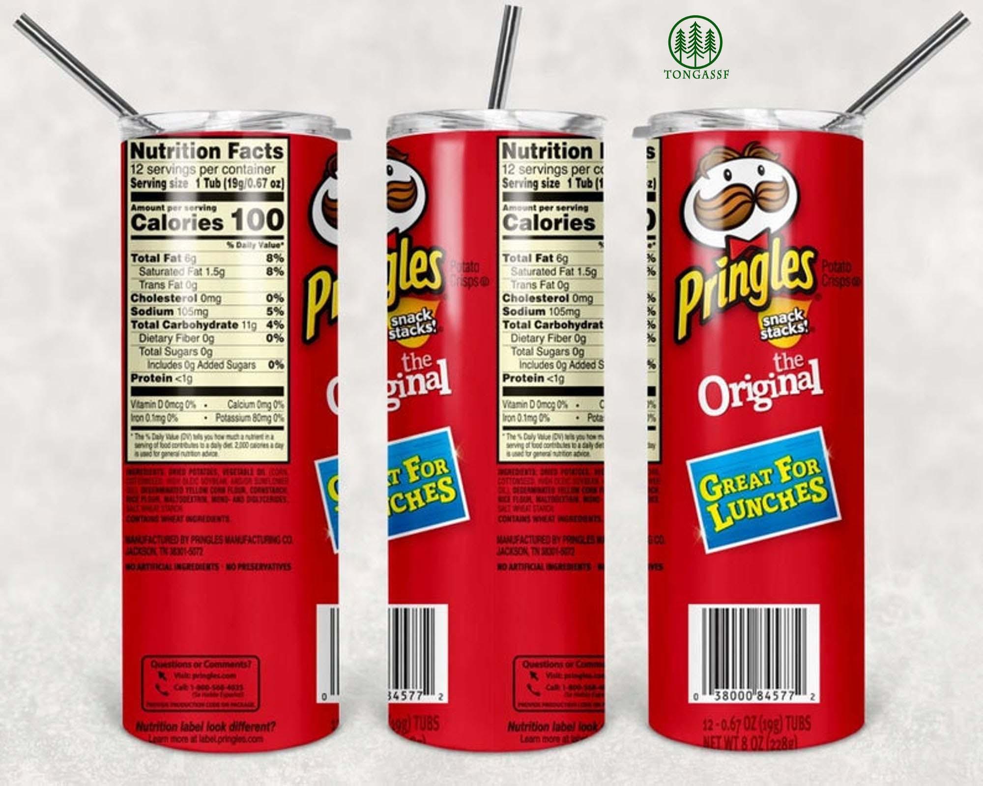 Pringles Skinny Tumbler