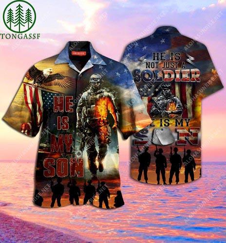 Proud Soldier Parents Unisex Hawaii Shirt