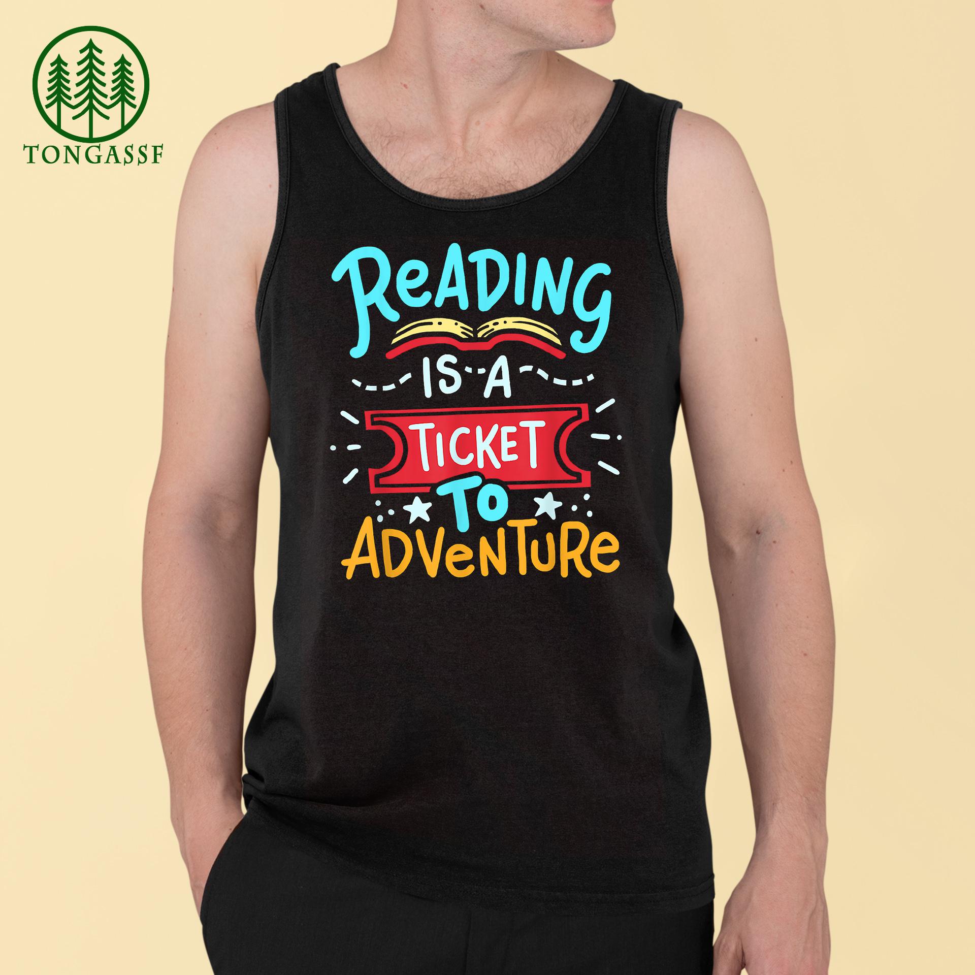 Reading Adventure Library Student Teacher Book T Shirt