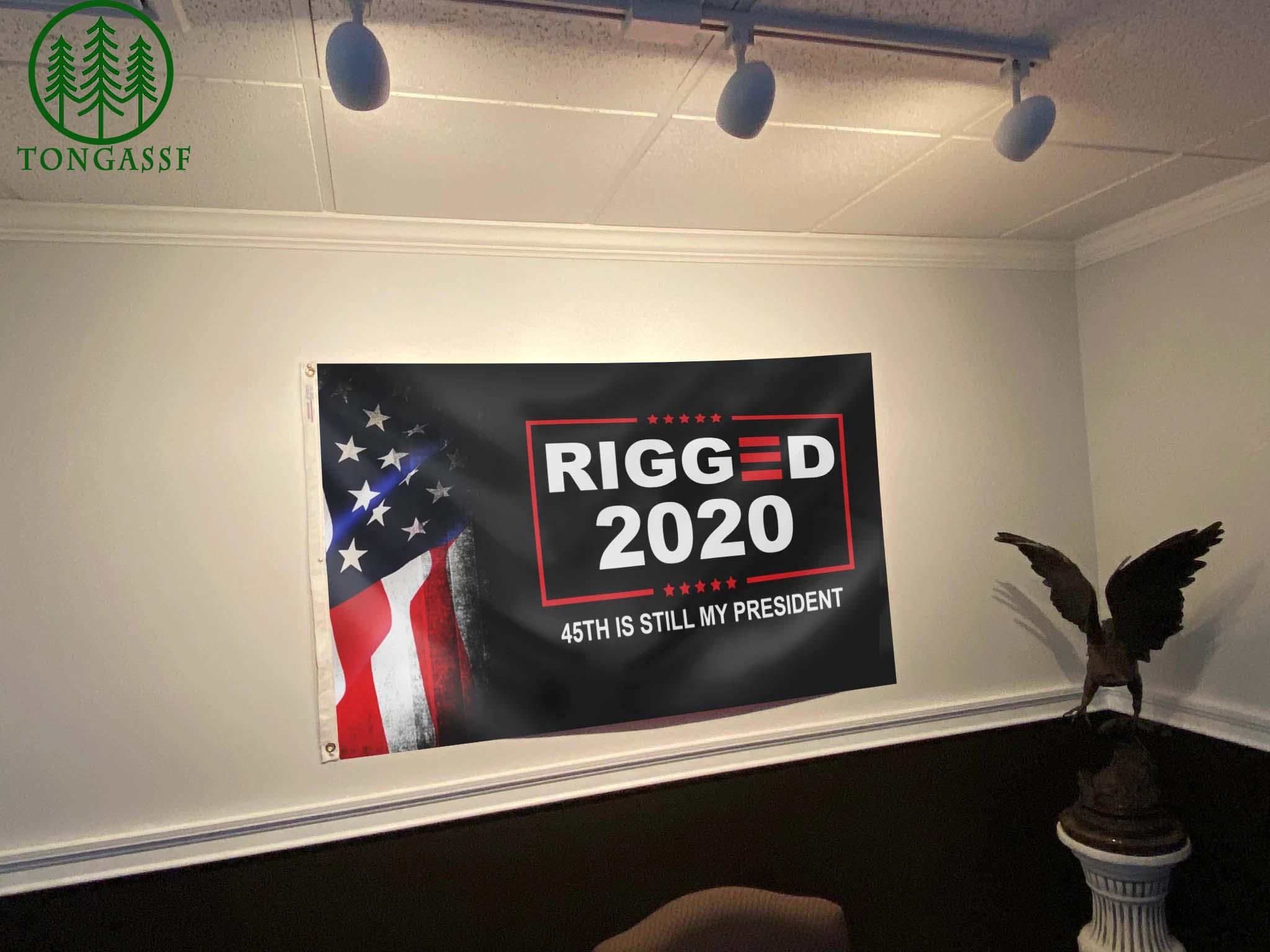 Rigged 2020 45th is still my President Flag