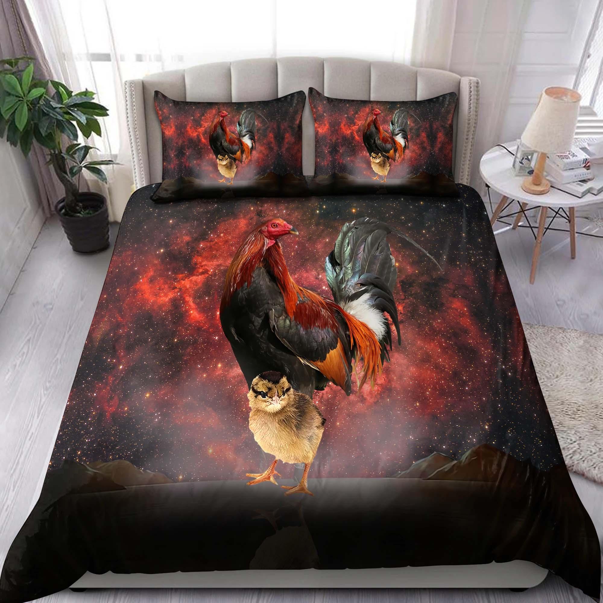 Rooster Bedding Set