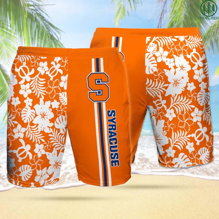 SO SYRACUSE ORANGE Hawaiian Shorts