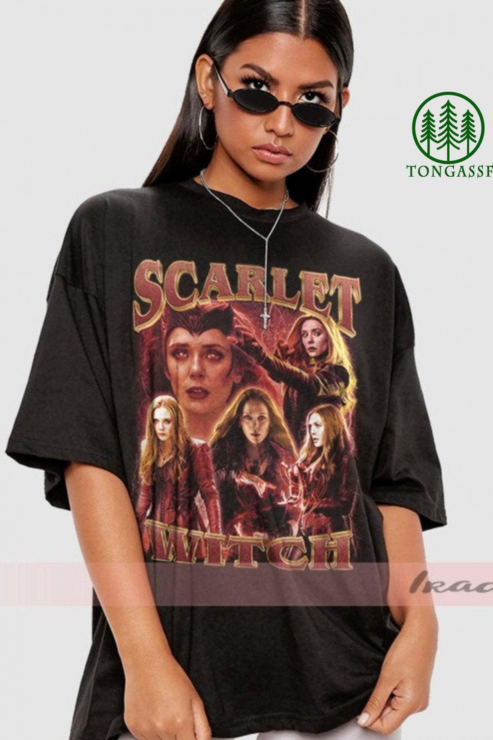 Scarlet Witch Wanda Vision Elizabeth Olsen Shirt