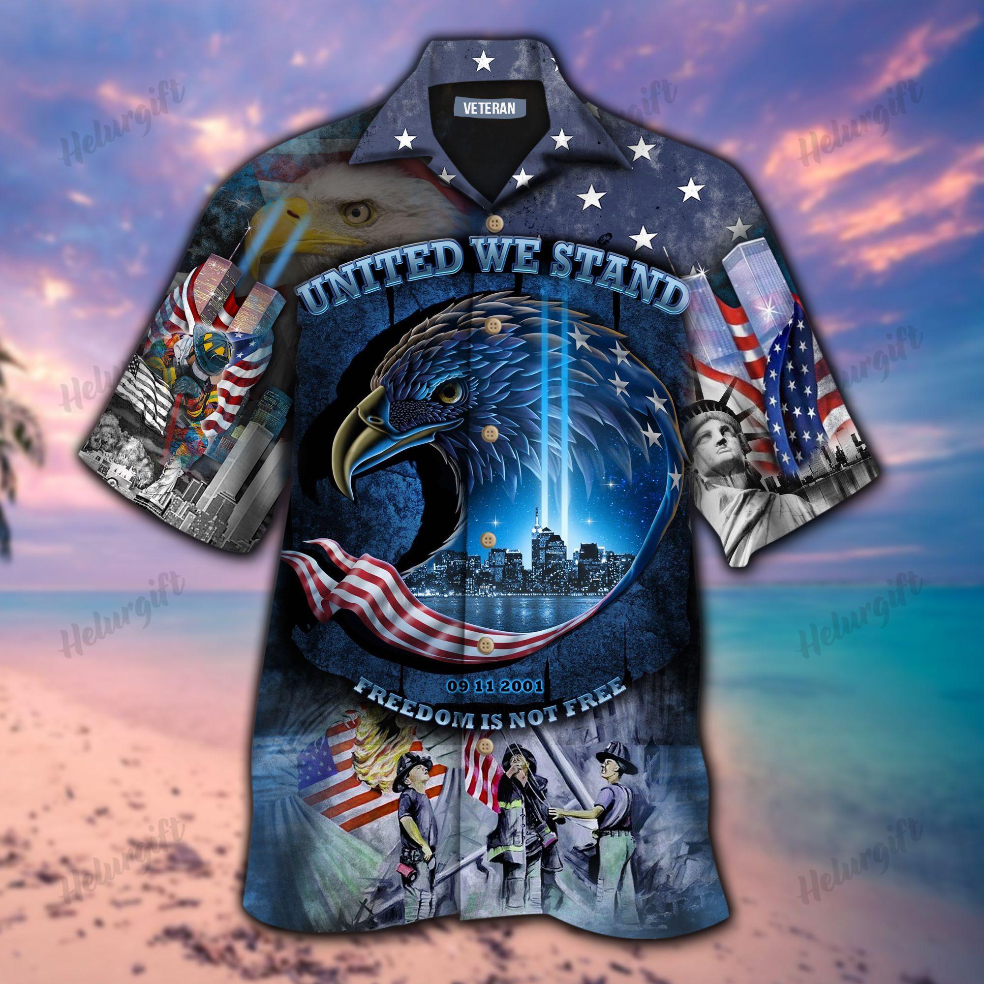 September 11th Veteran Memorial Hawaiian Shirt
